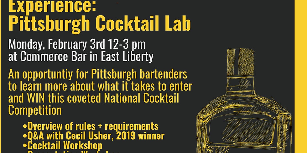 Woodford Reserve Manhattan Experience: Pittsburgh Cocktail Lab