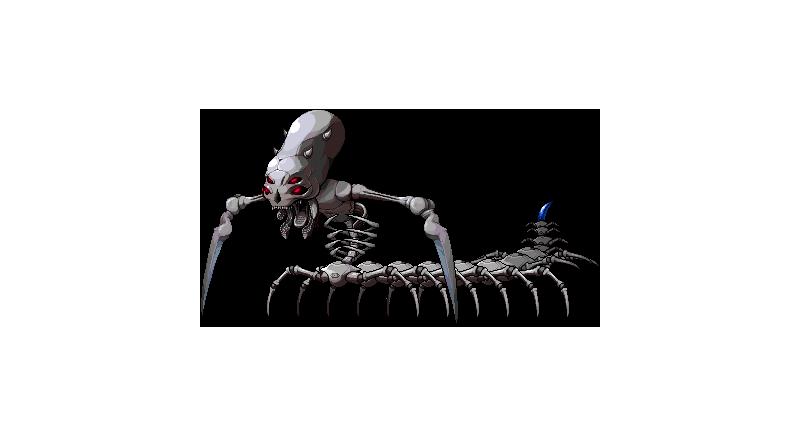 87楓之谷世界王-百足骨骸