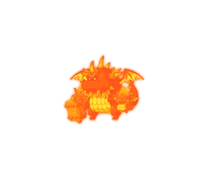 87楓之谷副本王-赤炎巨龍