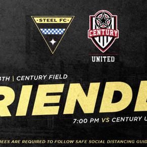 Steel FC 1 -1 Century United