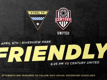 Steel FC 5 - 1 Century United