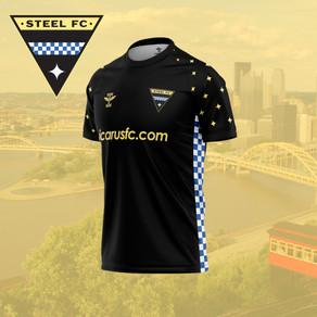 Steel FC Unveils New Logo & Kit
