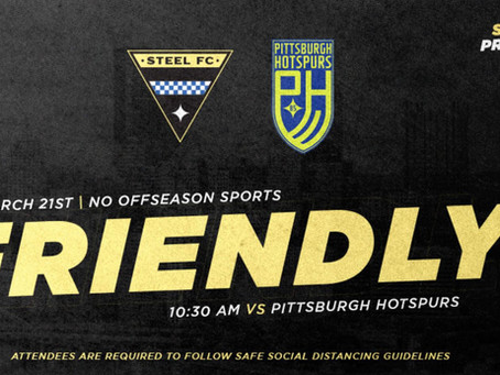 Steel FC 2 - 1 Pittsburgh Hotspurs