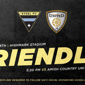 Steel FC 5 - 0 Amish Country United