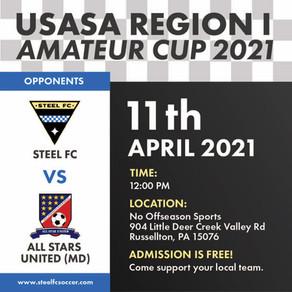 Steel FC 2 - 1 All Stars United (MD)