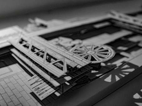 Physical paper model