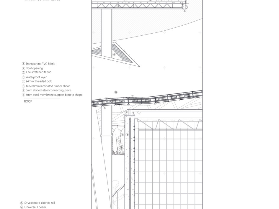 Detailed section 1:20