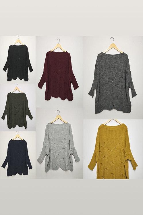 Oversize Pullover verschiedene Farben - Preis incl. MwSt. zzgl. Versand