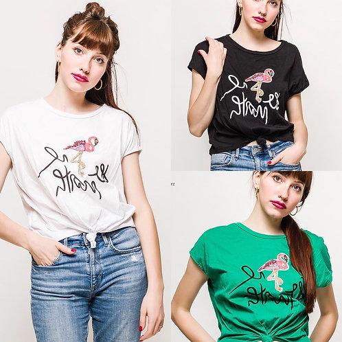 Flamingo Shirt - Preis incl. MwSt. zzgl. Versand