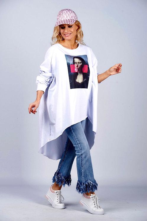 "XXL Oversize Shirt ""Bubble Gum""-Preis incl.Mwst.zzgl.Versand"