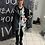 "Thumbnail: Zipfel Strick Long Pullover ""Big Grafic Dream"" - Preis incl.Mwst.Zzgl.Versand"