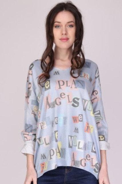 "Cooler Pullover Sweatshirt ""Angel"" One Size - Preis incl. MwSt. Zzgl. Versand"