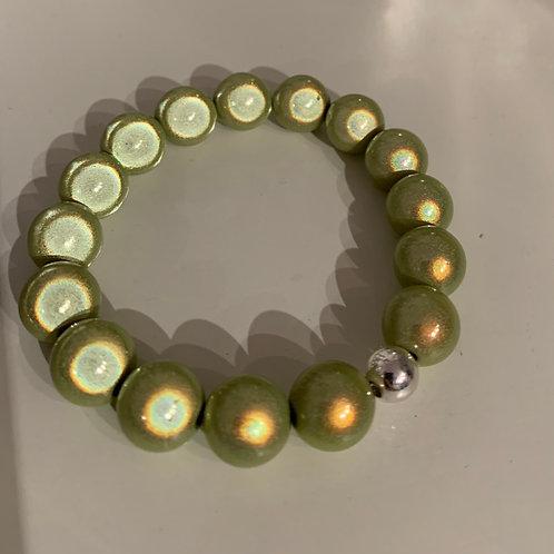 Magiclaze® Lime Perlenarmband 12 mm-Preis incl.Mwst.Zzgl.Versand