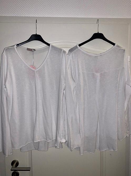 Esvivid Baumwoll  Shirt mit Trompeten Ärmeln-Preis incl. MwSt. Zzgl Versand