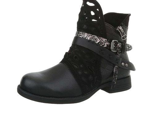 Coole BIKER Boots mit tollen Details - Preis incl. MwSt. zzgl. Versand