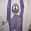 """Thumbnail: Baumwoll Oversize Shirt """"Flower Power Peace"""""""