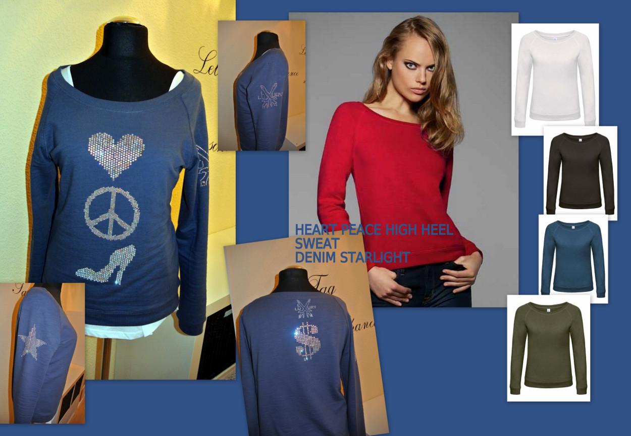 LUXURY LOVE PEACE HIGH HEELS 3