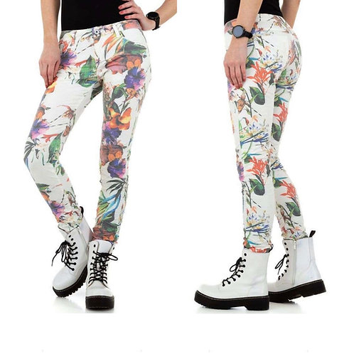"5 Pocket ""Flower Power"" Jeans - Preis incl. MwSt. Zzgl. Versand"