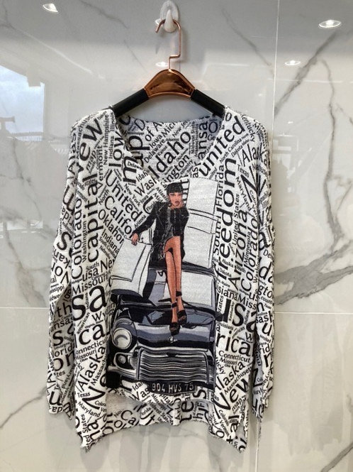 "Kuschelweicher Pullover ""Freedom"" - Preis incl. MwSt. Zzgl. Versand"