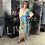 "Thumbnail: Cooles Viskose Maxikleid Modell "" Colour Flower Dream"" in 2 Farben"