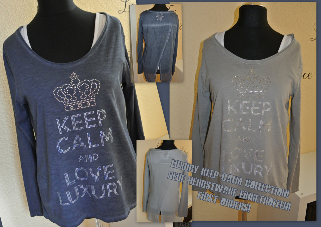 KEEP CALM & LOVE LUXURY