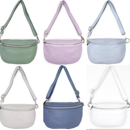 Cross Body Bag M Leder - neue Farben