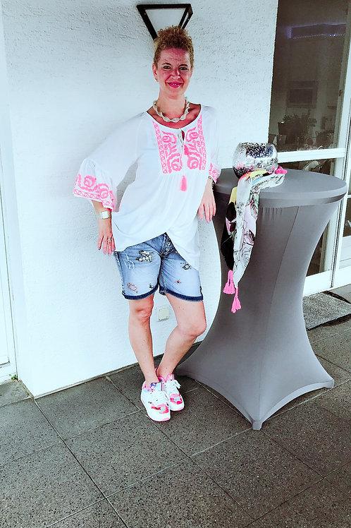 Jeans Shorts mit Strass - Preis incl. MwSt. zzgl. Versand