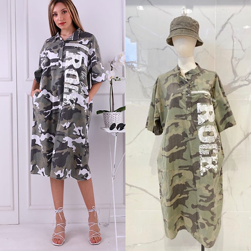 """Camouflage Military Dress """"Rock"""" in 2 Farben"""