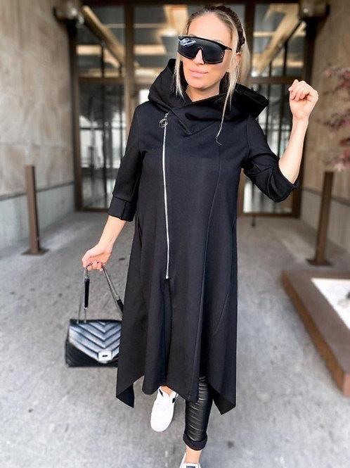 "Black Dress ""Audrey"" mit Reißverschluss - Preis incl. MwSt. Zzg. Versand"