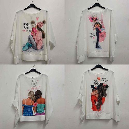 Shirt mit niedlichen Aufdruck-Preis incl. MwSt. Zzgl. Versand