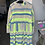 Thumbnail: Baumwoll Tunika Ethno Style mit Neon Akzenten in 3 Farben