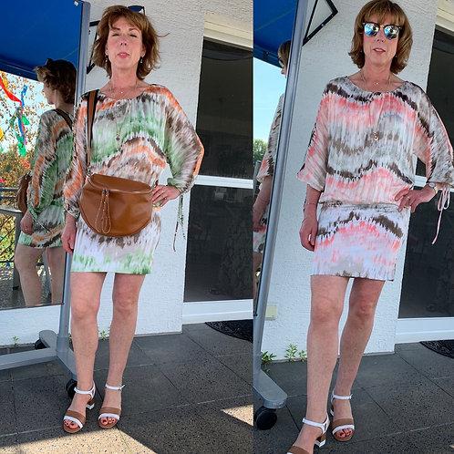 "Shirt / Kleid "" Batik Dream"" - Preis incl. MwSt. zzgl. Versand"