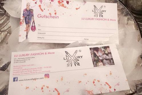 Gutschein15 €- Preis incl. MwSt. zzgl. Versand