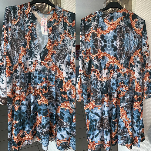 Tunika Dress R E T R O Style-Preis incl. MwSt. Zzgl. Versand