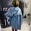 Thumbnail: Jeanshemd / Kleid  aus Baumwolle- Preis incl. Mwst. Zzgl. Versand