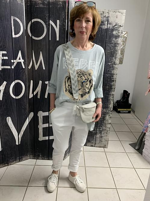 Weiße Jogpants Hose one size - Preis incl. MwSt. Zzgl. Versand