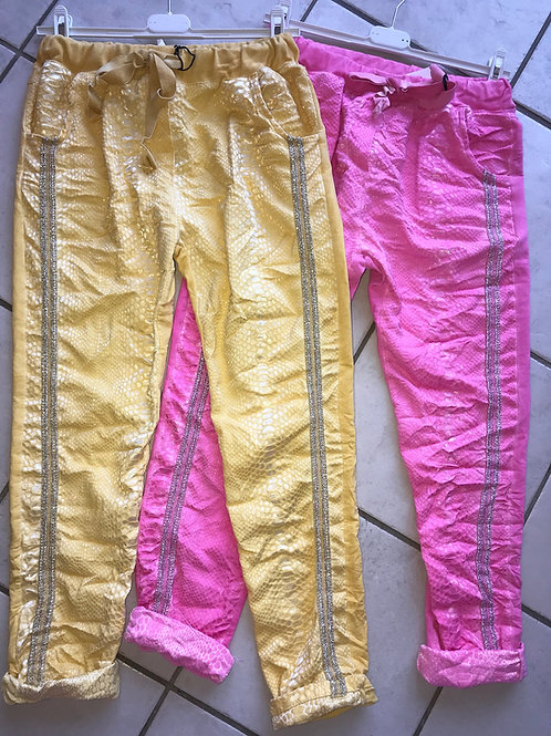 Edel Jogger pink oder Edel Jogger 4 Farben- Preis incl. MwSt. zzgl. Versand