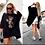 "Thumbnail: Sweatshirt Kleid Longshirt ""sweet mouse""-Preis incl.Mwst.zzgl. Versand"