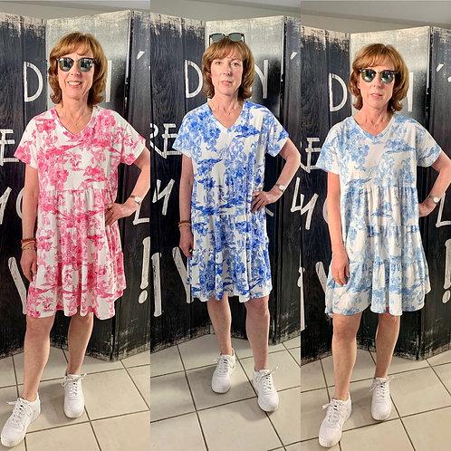 """Tunika Kleid Model """"Toile de Jouy"""""""