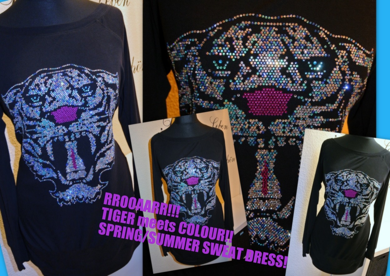 LUXURY TIGER meets Colour!!!