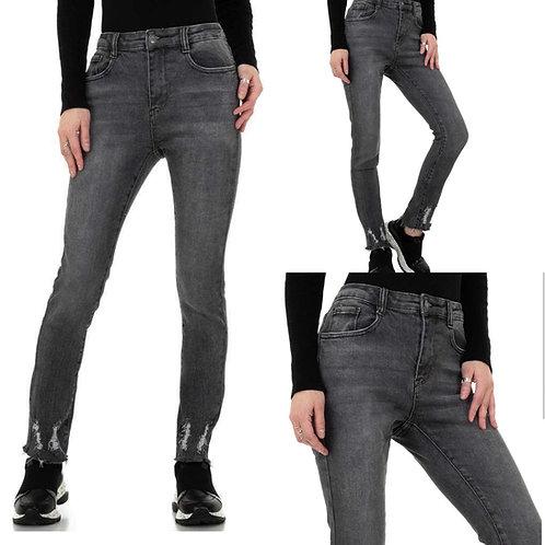 Big size - High Waist Jeans grau - Preis incl. MwSt. Zzgl. Versand