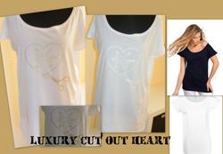 LUXURY CUT OUT HEART