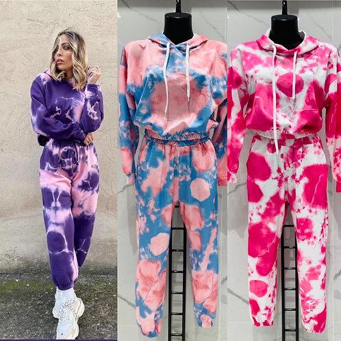 Batik Sweat Jogging Home Anzug - Preis incl. MwSt. Zzgl. Versand
