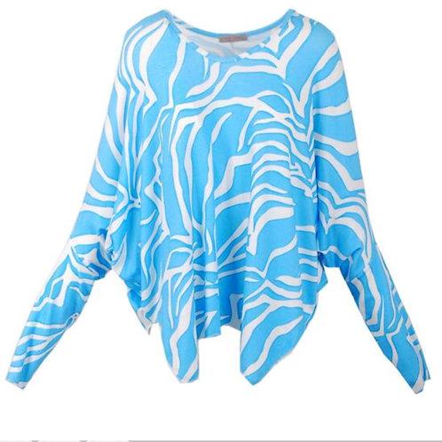 Esvivid Zebra Oversize Shirt - Preis incl. MwSt. zzgl. Versand
