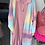 Thumbnail: Rainbow Strickjacke / Mantel in 4 Farben