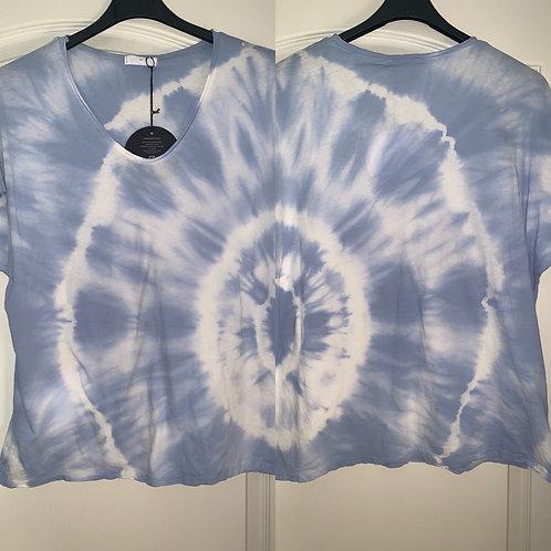 """Batik Shirt """"ICE Blue"""""""