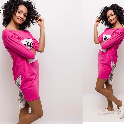 Longshirt /Kleid in 3 Farben- Preis incl. MwSt. zzgl. Versand