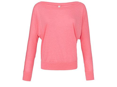 Off shoulder Shirt neon gelb oder pink - Preis incl. MwSt. Zzgl. Versand