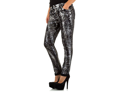 Coated Jeans Black Silver - Preis incl. MwSt. zzgl. Versand