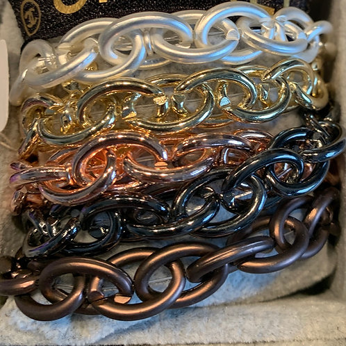 Magiclaze Glieder Armband in 5 Farben - Preis incl. MwSt. Zzgl. Versand